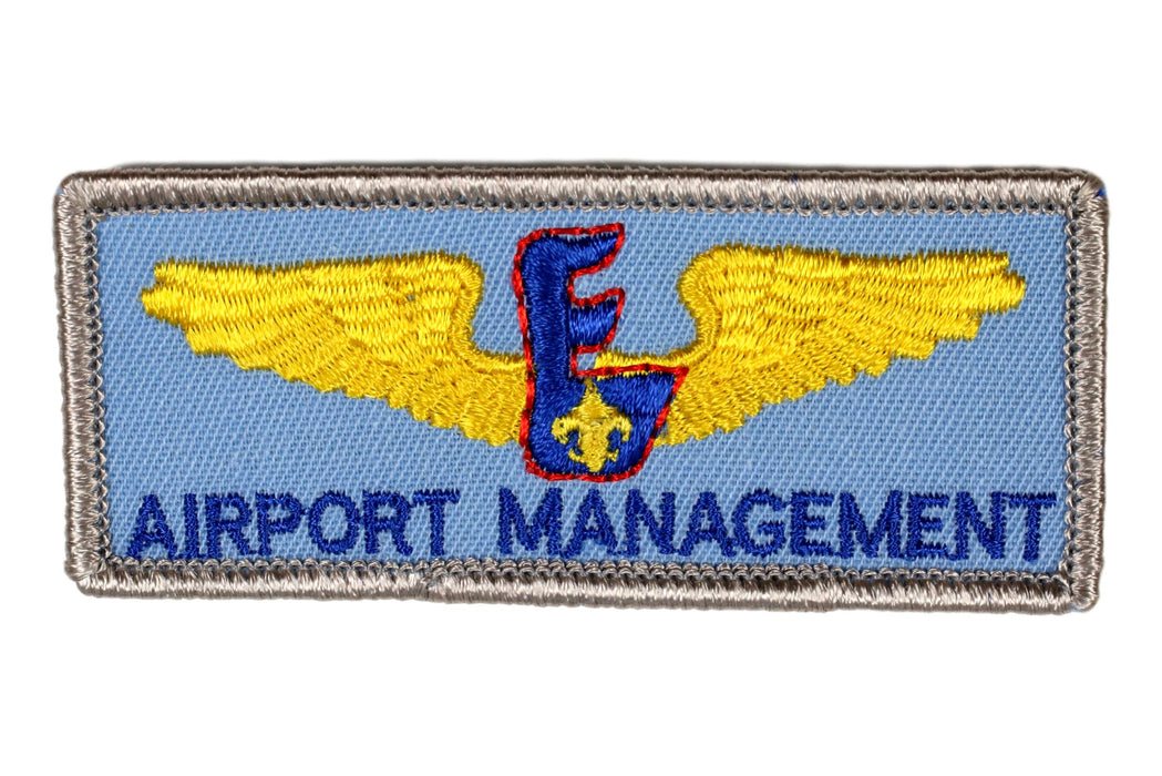 Air Scout Airport Management Patch