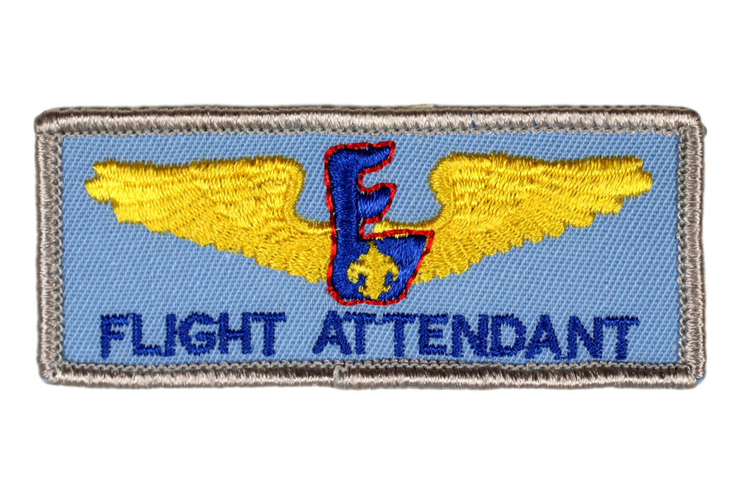 Air Scout Flight Attendant Patch