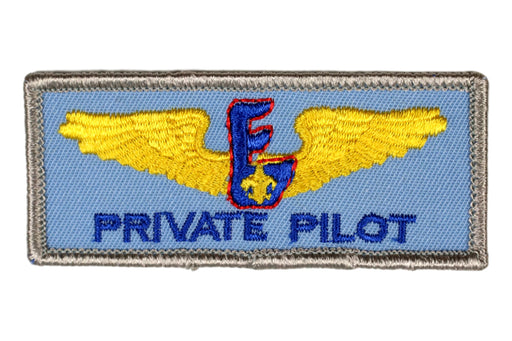 Air Scout Private Pilot Patch
