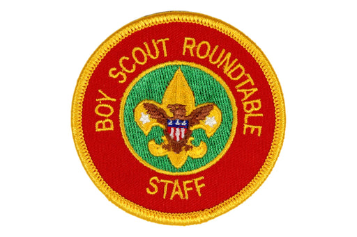 Boy Scout Roundtable Staff Patch
