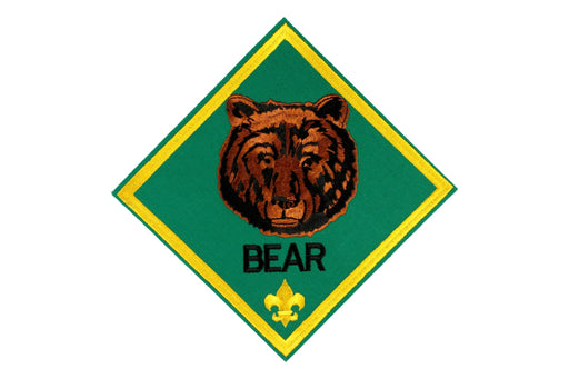 Bear Rank Patch Jacket Patch 6""