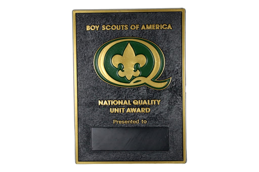 1988 Quality Unit Plaque