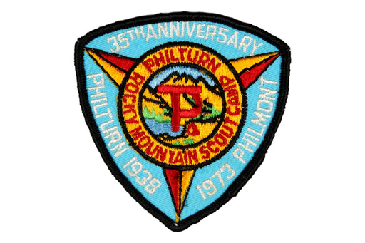 1973 Philmont 35th Anniversary Patch