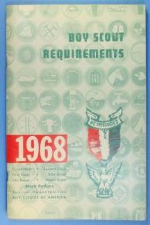 Boy Scout Requirements Book 1968