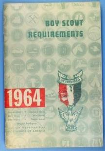 Boy Scout Requirements Book 1964
