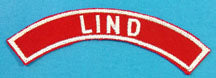 Lind Red and White City Strip