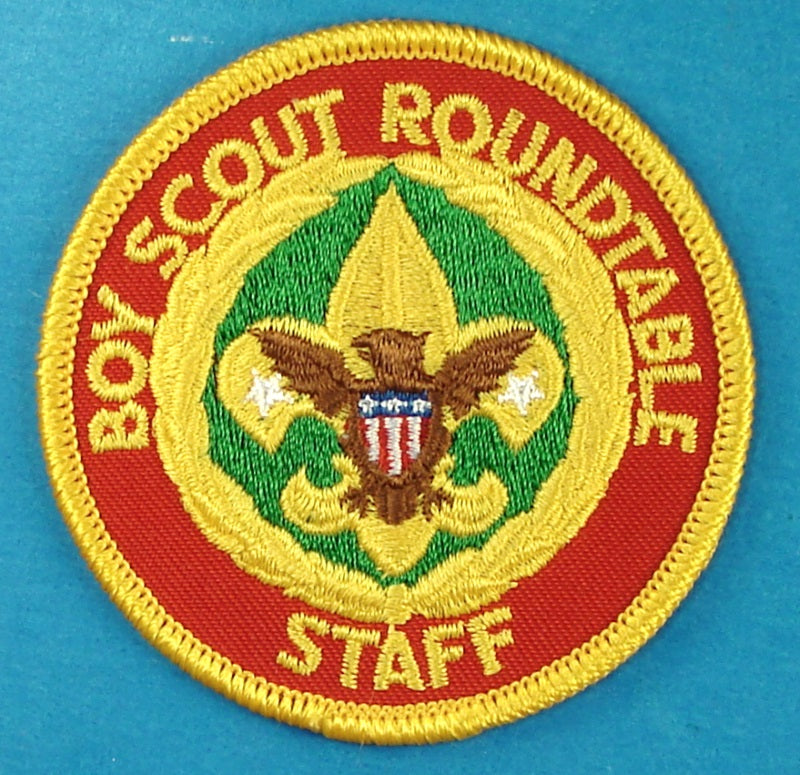 Boy Scout Roundtable Staff Patch Computer Design