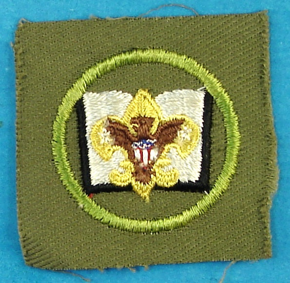 Librarian Patch 1950s