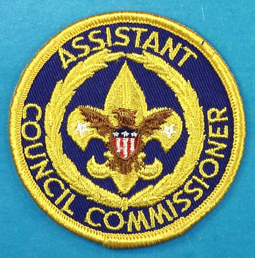 Assistant Council Commissioner Patch 1970