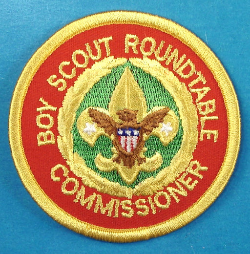 Boy Scout Roundtable Commissioner Patch