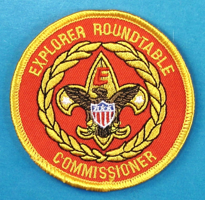 Explorer Roundtable Commissioner Patch