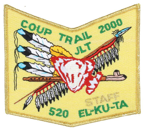 Lodge  520 Patch 2000 Coup Gold Mylar