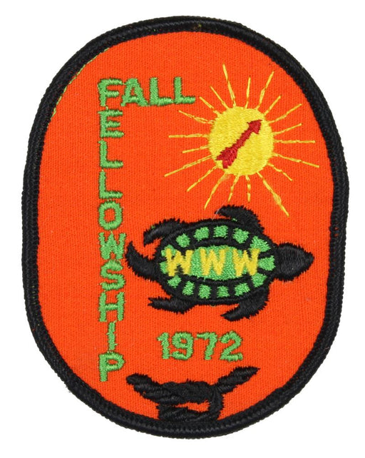 1972 Fall Fellowship Patch