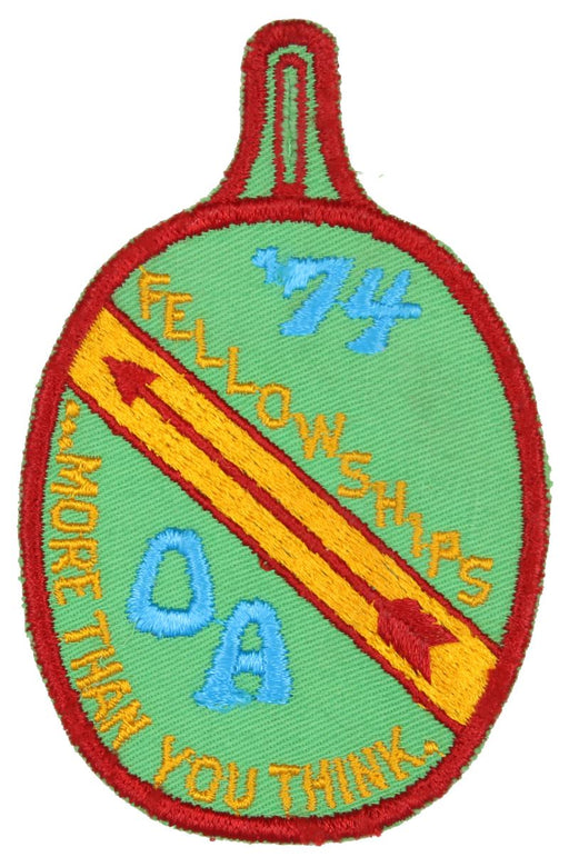 1974 Fellowship Patch