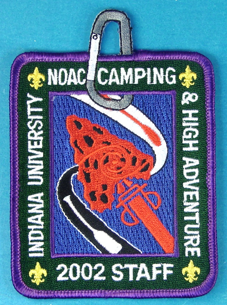 2002 NOAC Camping Staff Patch