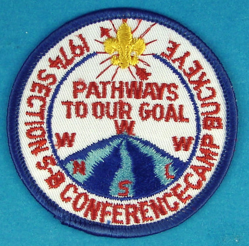 1974 Section 5B Conference Patch