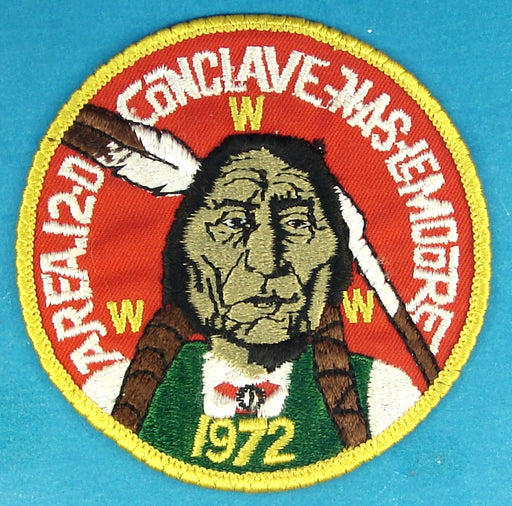 1972 Area 12D Conclave Patch