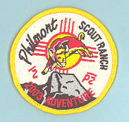 2003 Philmont Adventure Patch