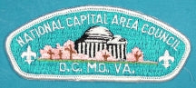 National Capital Area CSP S-2a Plastic Back