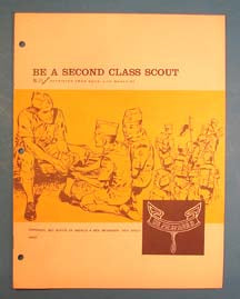 Be A Second Class Scout BL-33