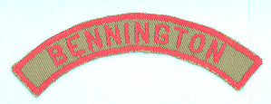 Bennington Khaki and Red City Strip