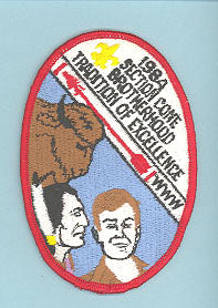 1984 Section W2A Conclave Patch
