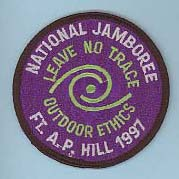 1997 NJ Leave No Trace Patch