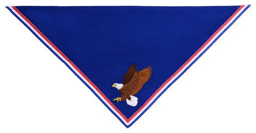 Custom Embroidered Neckerchief for Eagle Scouts - Embroidered Eagle