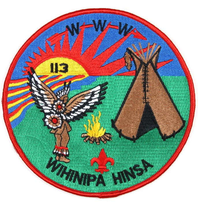 Lodge 113 Jacket Patch J-3