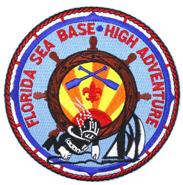 Florida Sea Base Jacket Patch