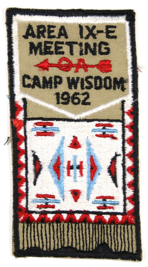 1962 Area 9E Meeting Patch