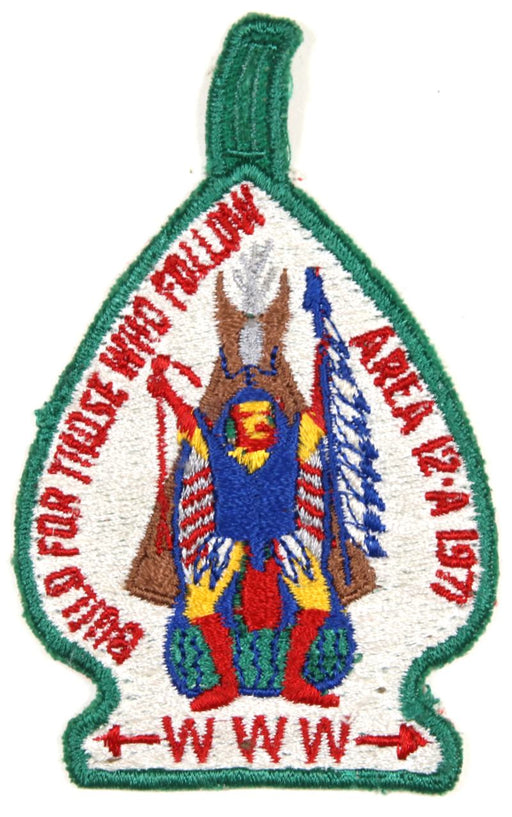 1971 Area 12A Conclave Patch