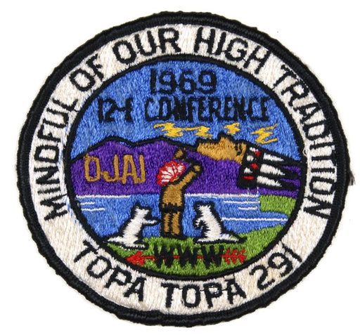 1969 Area 12I Conference Patch