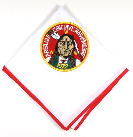 1972 Area 12D Conclave Neckerchief