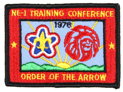 1975 Section NE1 Training Conference Patch