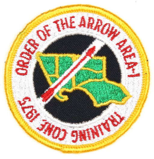 1975 Area 1 Training Conference Patch
