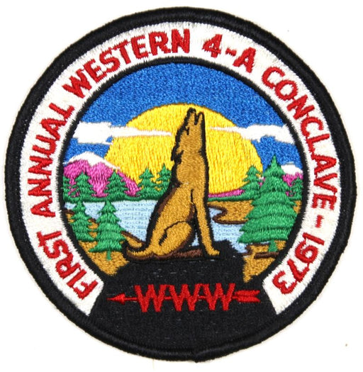 1973 Section 4A Conclave Patch