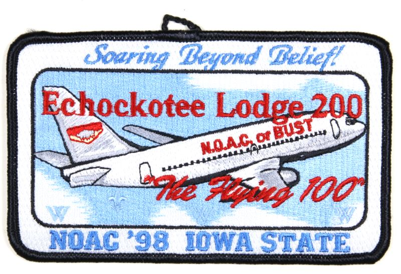Lodge 200 Patch 1998 NOAC