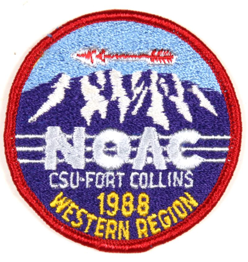 1988 NOAC Western Region Patch