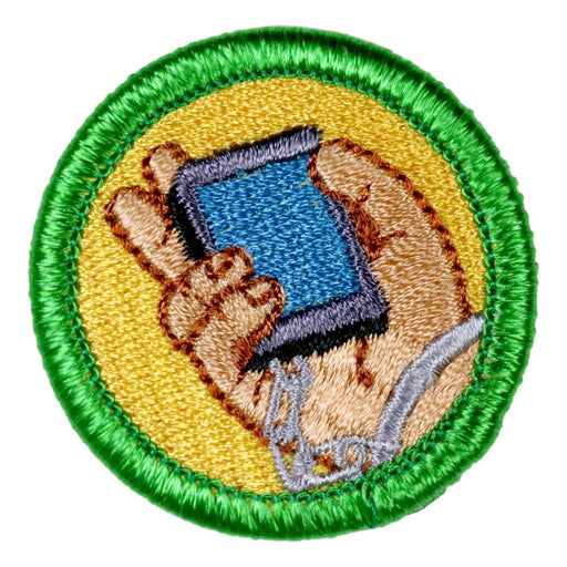 Cell Phone Addicition Merit Badge
