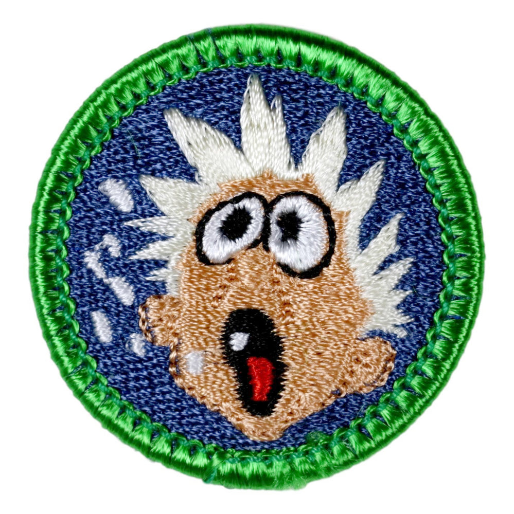 Belching Merit Badge