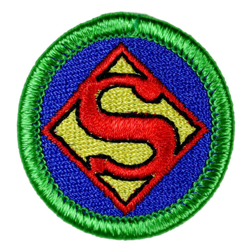 Coronavrius Super Hero Merit Badge