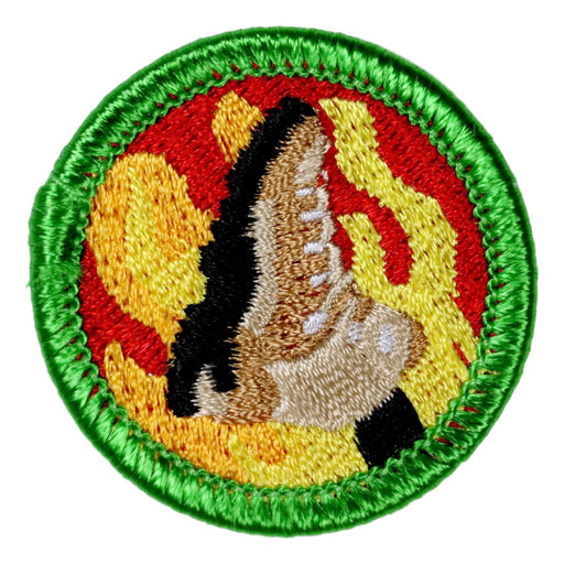 Boot Burning Merit Badge
