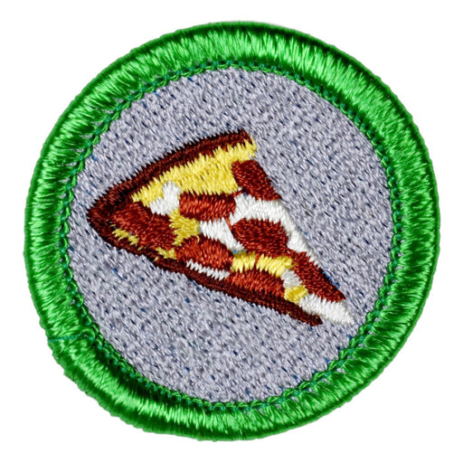 Pizza Merit Badge