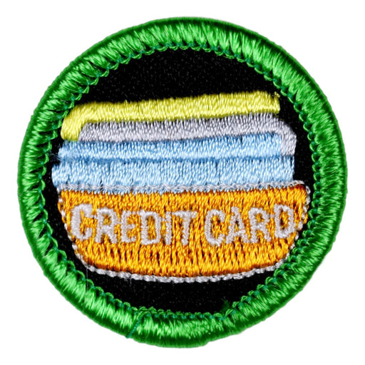 Credit Card Addiction Merit Badge
