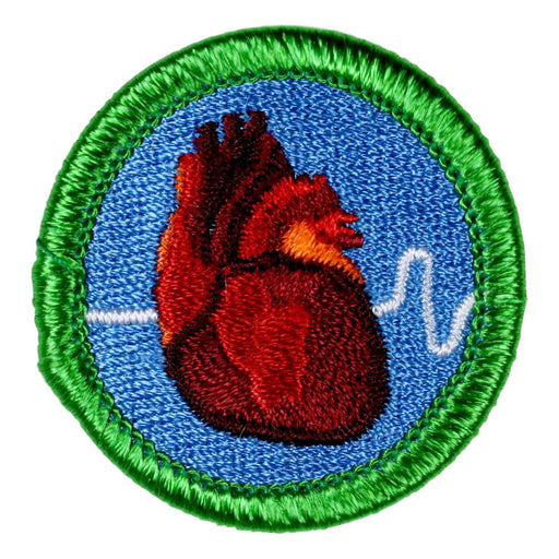 Heart Attack Merit Badge
