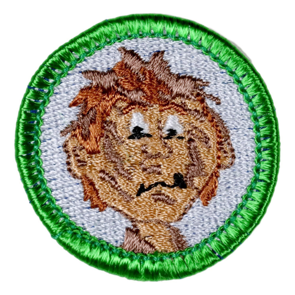 Social Distancing Showering Merit Badge