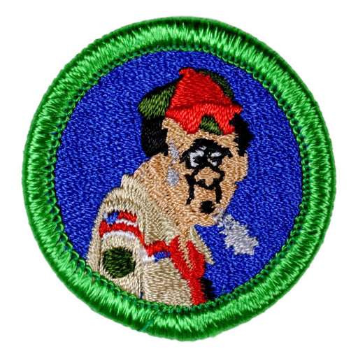 Exhausted Scoutmaster Merit Badge