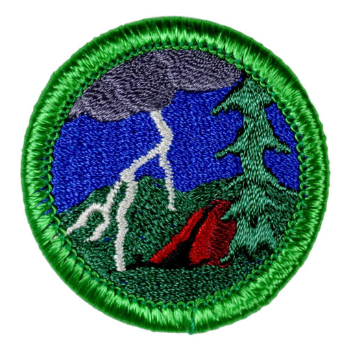 Storm Chasing (Camping) Merit Badge