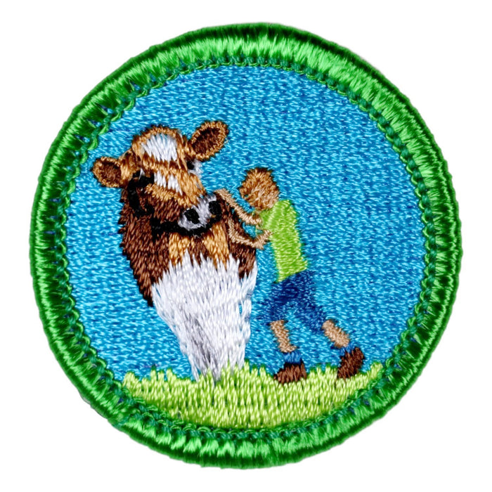 Cow Tipping Merit Badge